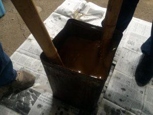 廃油石鹸とぼかし