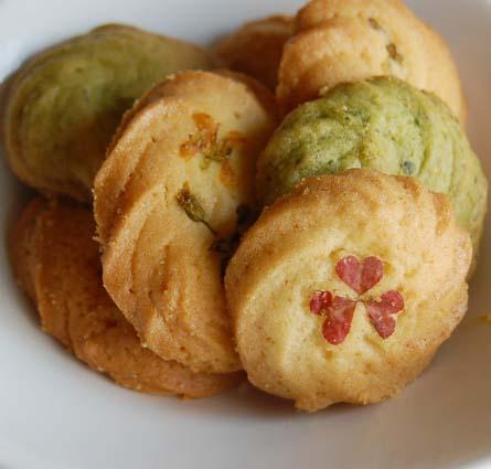 つみ菜クッキー